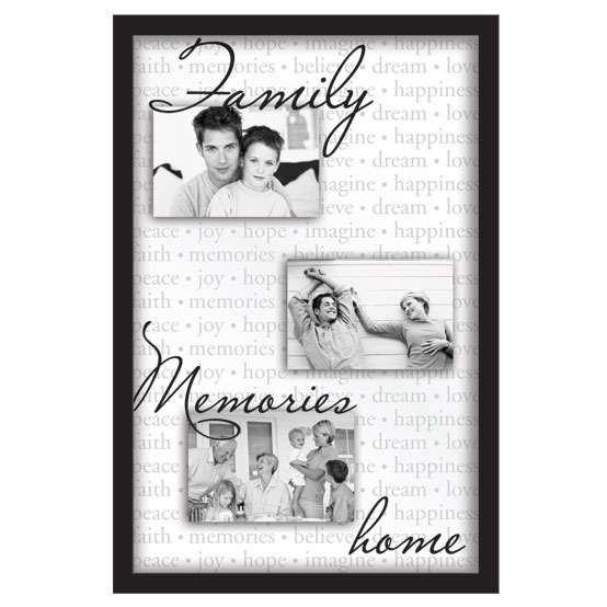"13x20"" Float Collage<br />Family Memories"